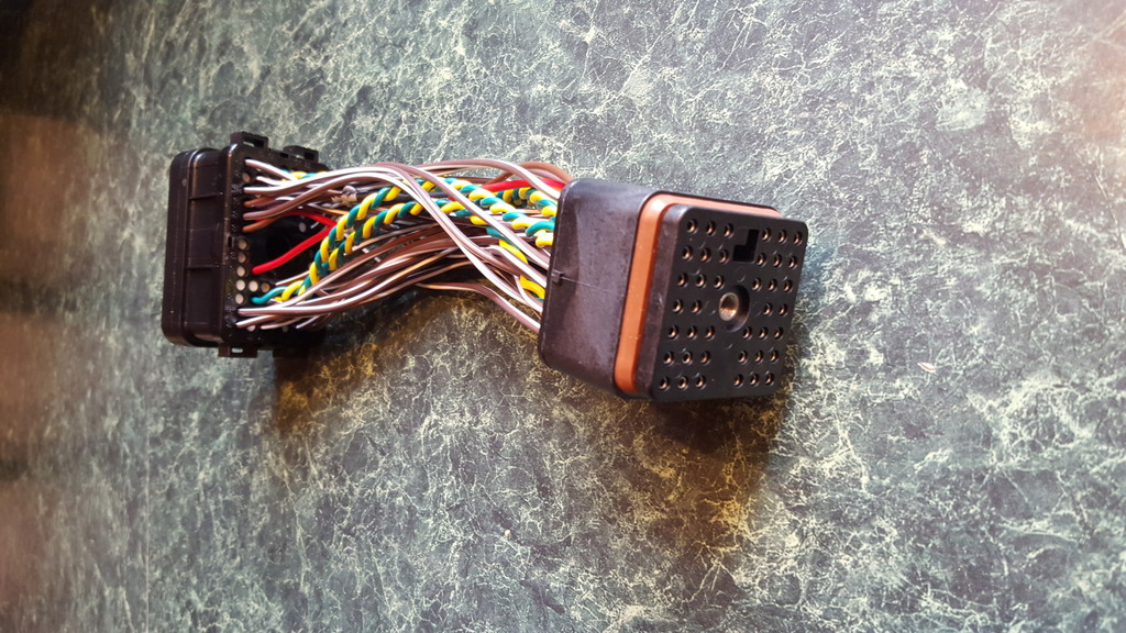 detroit 60 series ecm power harness connector
